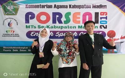 MTsN 4 Madiun Juara Pidato Bahasa Inggris Porseni  2019 MTs Se-Kabupaten Madiun