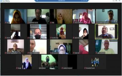 Video Conference Rakor Kelulusan Siswa MTsN 4 Madiun